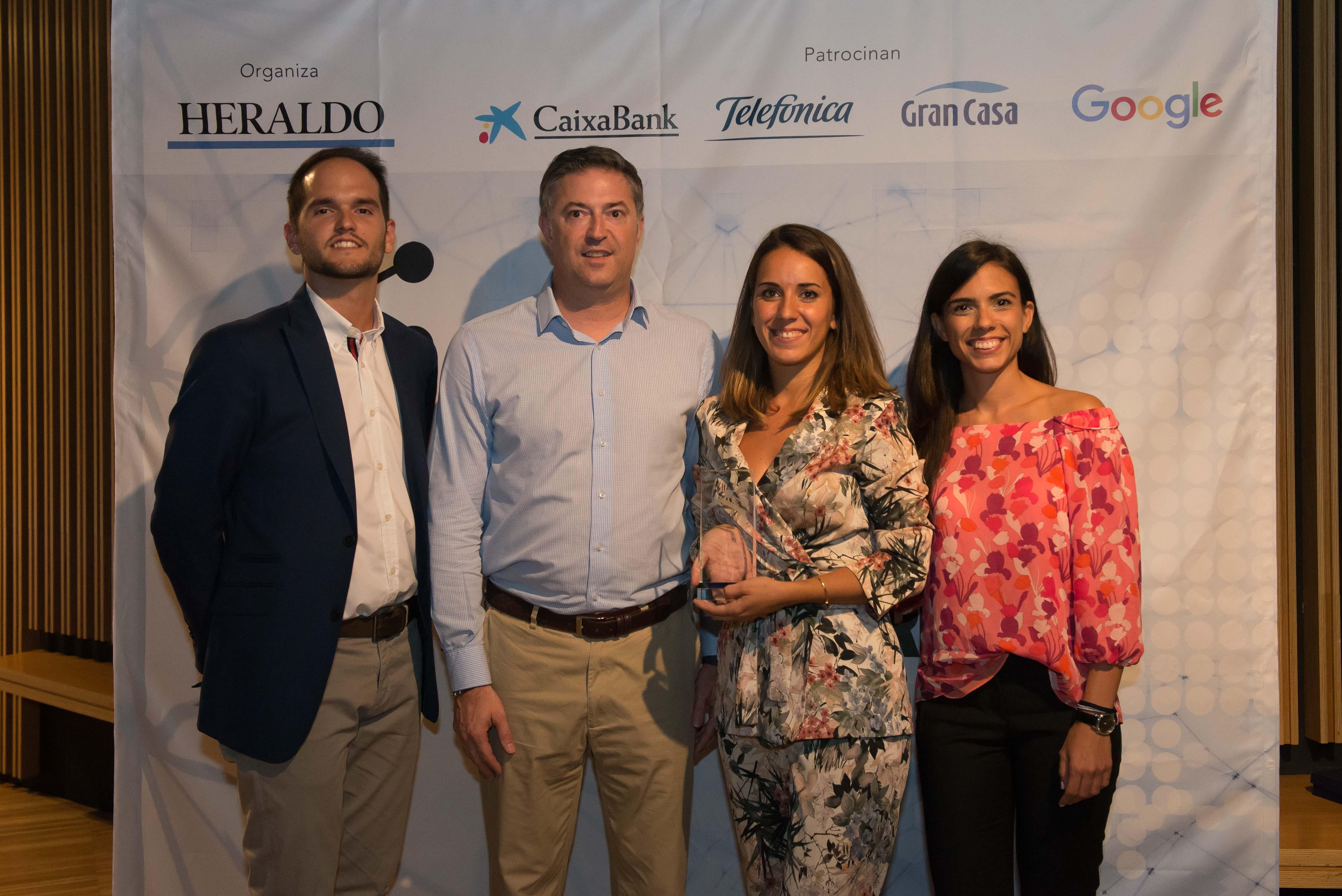 Kiomac en los premios Aragón en la red