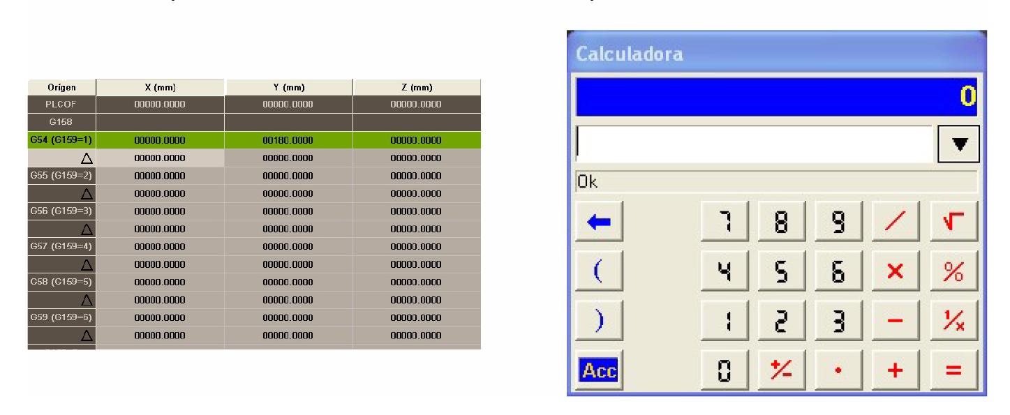Calculadora control Fagor 8060
