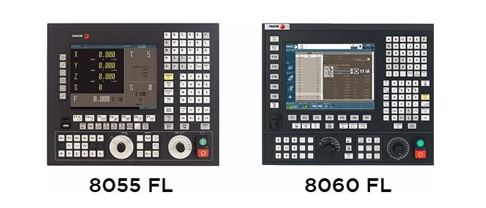 Controles Fagor 8055 y 8060
